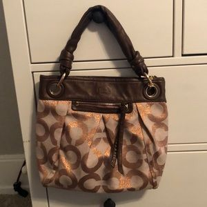 Coach Bronze Purse